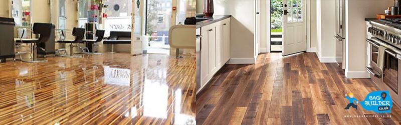 Laminated vs Engineered Wood Flooring