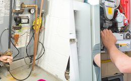 gas heating system maintenance