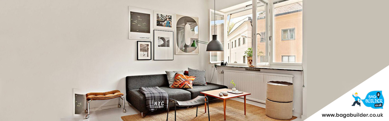 stylish furniture in house